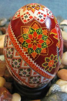 Pysanka (Easter egg)-a piece of Ukrainian art to you, from Iryna with love