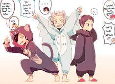 Kuroo, Bokuta & Sawamura | Haikyuu!!, costumes, http://www.pixiv.net/member_illust.php?mode=manga&illust_id=45123607