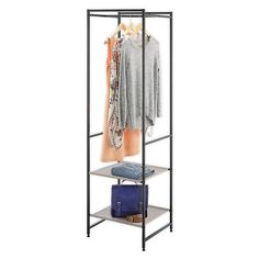 Portable Wardrobe Closet, Diy Wardrobe, Wardrobe Design, Small Closet Space, Small Closets, Small Spaces, Small Closet Organization, Closet Storage, Closet Racks