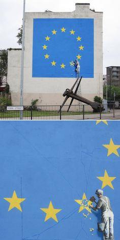 Banksy in Dover, England.