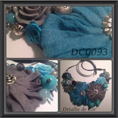 #detalhedecor #necklace #felt