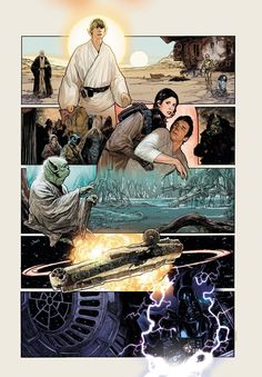 Star Wars by Adam Hughes