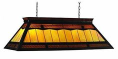 RAM Gameroom Products 44-Inch Filigree Billiards Table Light with KD Frame