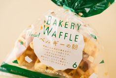 Petite Madeleine & Bakery Waffle by UMA, Japan. #packaging #design