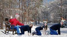Genius Christmas photo ideas