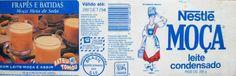 embalagem antigas leite moça 1990 - Google Search