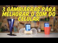 3 gambiarras para melhorar o som do celular - YouTube
