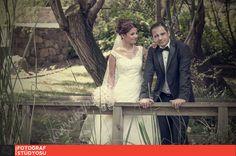 Ataşehir Nezahat Gökyiğit Botanik Bahçesi Düğün fotoğrafı çekimi.