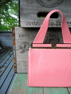 . pink handbag