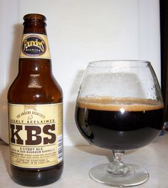 Founders KBS (Founders Brewing Company). Mine is still being aged! I almost forgot I had some.