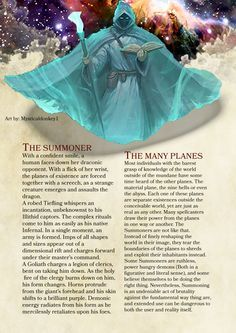 The Summoner: DnD Homebrew Dungeons And Dragons Classes, Dungeons And Dragons Homebrew, Fantasy Wizard, Fantasy Races, Fantasy Rpg, Dark Fantasy, Dnd Classes, Dnd Races, Character Creation