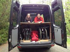 Diy camper from rusty van to cosy home 43