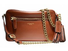 COACH Legacy Leather Flight Bag Brass/Cognac - Zappos.com Free Shipping BOTH Ways