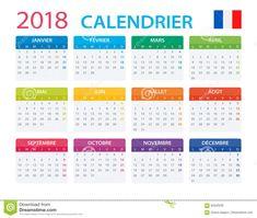 """Résultat de recherche d'images pour """"calendrier 2018"""""""