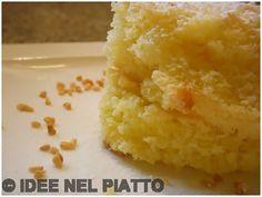 TORTA PARADISO http://blog.giallozafferano.it/ideenelpiatto/torta-paradiso/