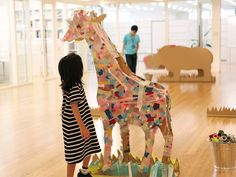 As part of a promotion for a Japanese masking tape manufacturer, art director Koji Iyama constructed a cardboard city and invited children to decorate it with brightly coloured masking tape inTokyo Mid Town in 2010. As you can see, the results were beautiful.    Several...