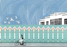 As We Make Our Way Home - Laurie Hastings Illustration
