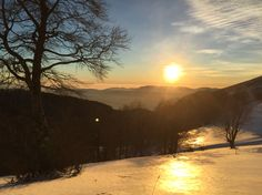 2/1/2015 - Terminillo, tramonto su Colle Cardito