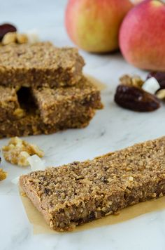 Cinnamon Apple Bars (Gluten Free) | cooking ala mel by cookingalamel, via Flickr