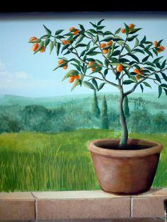 Caroline Philp, Detail of Koum Kuat tree.