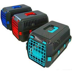 Travel Pet Carrier Plastic Cage Crate For Cat Kitten Dog Puppy Small Size New