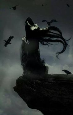 61 Ideas dark art fantasy gothic for 2019 Dark Fantasy Art, Dark Gothic Art, Gothic Artwork, Dark Artwork, Fantasy Hair, Dark Beauty, Gothic Beauty, Vampires, Creation Image