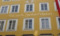 Mozart's home in Salzberg, Austria - been there, very cool.  I loved Austria.