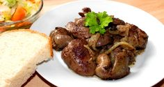 Hungarian Cuisine, Hungarian Recipes, Hungarian Food, Liver Recipes, Vegan Recipes, Main Dishes, Bacon, Food And Drink, Turkey