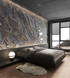Black Bedroom Design, Luxury Bedroom Design, Master Bedroom Design, Luxury Interior Design, Home Decor Bedroom, Hotel Room Design, Luxurious Bedrooms, Beautiful Bedrooms, Apartment Design