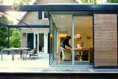 Wil Bongers Architectuur - Projecten - Uitbouw aanbouw glas en staal Ermelo projectfoto's