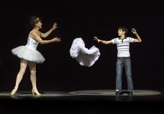 Ruthie Henshall as Mrs. Wilkinson and Elliott Hanna as Billy in Billy Elliot the Musical Live, coming to U.S. cinemas in November.