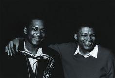 John Coltrane and Johnny Hartman.
