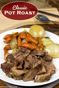 Classic Beef Pot Roast | Spiced