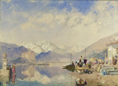 Lake Maggiore by JAMES BAKER PYNE - Cider House Galleries