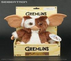 Pehmolelu: Gremlins Gizmo (jos jostain sattuisi löytymään tämmöinen söpöliini)