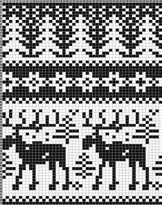 psinki.net // собачья шерсть: прядение и вязание   VK Fair Isle Knitting Patterns, Fair Isle Pattern, Knitting Charts, Hand Knitting, Knitting Machine, Vintage Knitting, Knitted Christmas Stockings, Christmas Knitting, Christmas Stocking Pattern