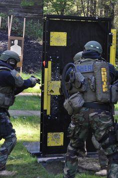 Catalyst Force Door at local SWAT training