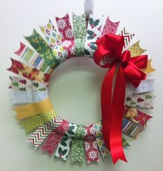 Christmas Wreath Project by Cheryl Hurttgam for CardMaker magazine