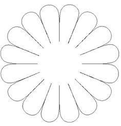 Mi Escuela Divertida: Moldes de Flores I Parte