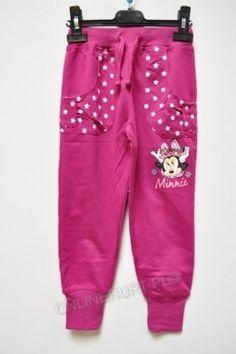 Spodnie dziecięce Myszka Minnie 52576  _A12  (3-8)