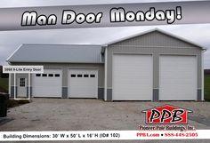 Man door mondays on pinterest residential garage doors for 10 x 9 garage door price