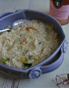more than burnt toast: I Danced the Dance and Celebrated with Zucchini Blossom Risotto with Prosecco