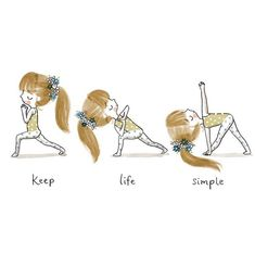 A fun way to put in yoga in your way of life as a beginner yoga practitioner is to begin past the easy stances. is a great way to start your yoga practice Yoga Art, My Yoga, Yoga Jobs, Slim Yoga, Chico Yoga, Yoga Kunst, Yoga Cartoon, Citations Yoga, Yoga Thoughts