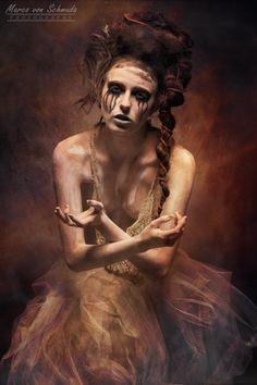 """On Fire"" #model Franziska #dark #beauty"