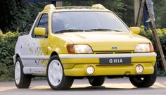 http://chicerman.com  carsthatnevermadeit:  Ford Fiesta Bebop 1990 by Ghia. A pick-up version of the third generation Fiestageared to sports-minded drivers  #cars