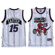 f5345b322 Vince Carter  15 Toronto Raptors Hardwood Classic Throwback Jersey