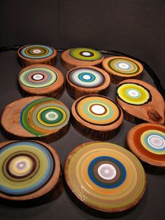 warm as toast: tree rings by tracy melton