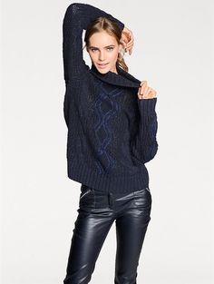 Pour un style 100% glamour, optez pour ce pull-over à col roulé #modehiver #glamour