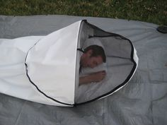 OK, this is pretty cool... It is a waterproof yet breathable tent think you can sleep in comfortably... AND it is pretty light so you don't have to haul your big tent. #camping #outdoors #hiking