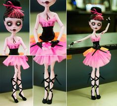 Now there is a zombie Monster High doll, but for some reason... I think this one may bee a bit cooler.